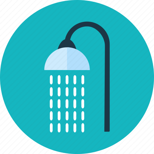 bath, droplets, shower, showering, showers, water icon