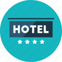 commercial, hotel, hotels, quality, signs, star icon