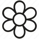 bloom, blossom, flower, nature, petal flower icon