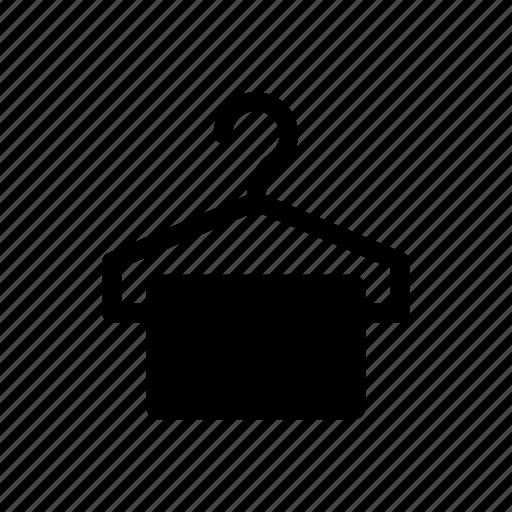 bath, hanger, hotel, service, shower, towel icon