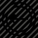 arrow, arrows, back, circle, exit, left, previous