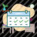 booking, calendar, reservation, schedule icon
