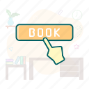 booking, online, reservation icon