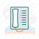 communication, intercom, telephone icon
