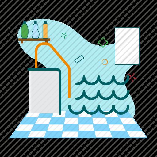 pool, sport, swimming pool icon
