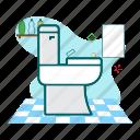 hygiene, sanitary, toilet, wc icon