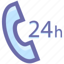 call, call service, customer care, customer case, receiver, telephone icon
