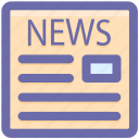 news, newspaper, paper, peper, press, reading, subscribe icon