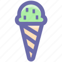 ., cream, frozen dessert, frozen yogurt, ice cone, ice cream, ice cream balls, sweet icon