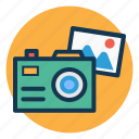 camera, digital camera, image, photo icon