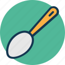 cooking spoon, flatware, kitchen utensil, spoon icon