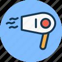blow dryer, hair dryer, hair salon, salon electricals, salon equipments icon