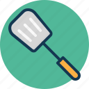 cooking, slotted spatula, spatula, spoon icon