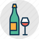alcohol, alcoholic drink, beverage, wine icon