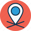 gps, location marker, location pointer, map marker icon