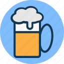 alcohol, alcoholic drink, ale, beer icon