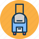 bag, hand luggage, luggage, travelling icon
