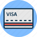 bank card, credit card, debit card, money card icon