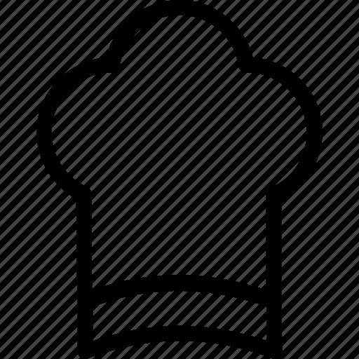 chef, chef hat, cook, toque, uniform icon