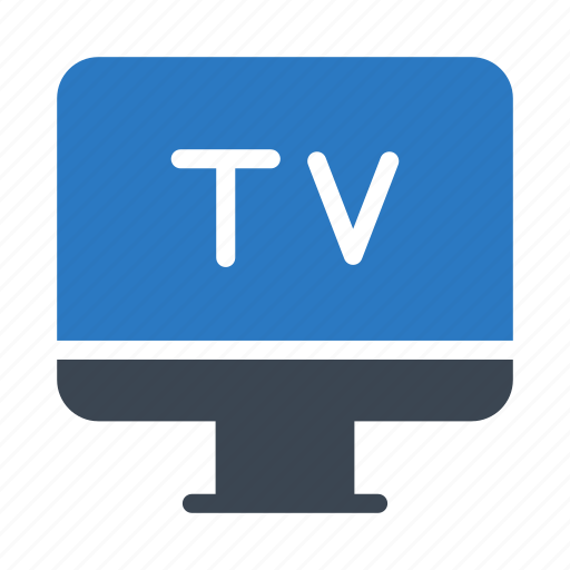 device, entertainment, lcd, screen, tv icon