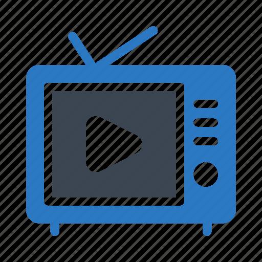 antenna, device, entertainment, tv, video icon