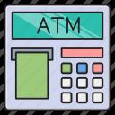 atm, bank, cash, money, withdraw