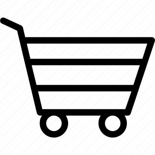 buy, cart, retail, shopping, trolley icon