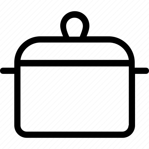 cooking, cooking pan, cookware, kitchen, saucepan icon