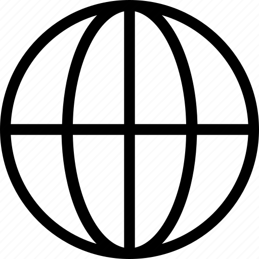 earth, globe, grid, planet, world icon