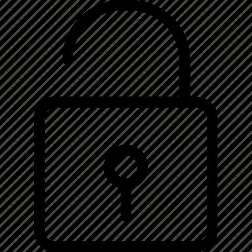 access, house lock, lock, safety, unlock icon