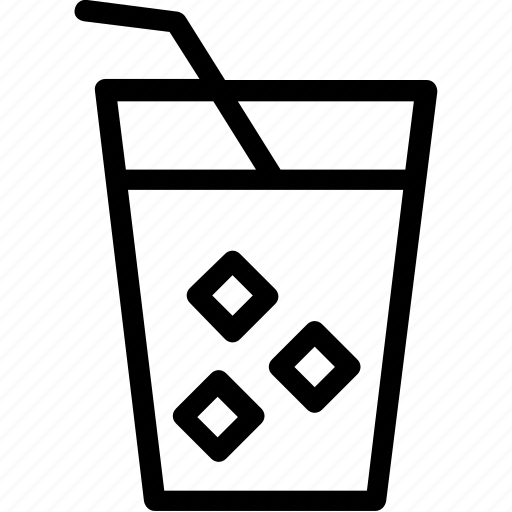 cold drink, drink, juice, lemonade, soda icon