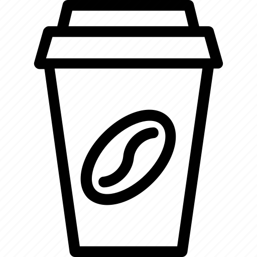 coffee, coffee cup, disposable cup, drink, take away icon
