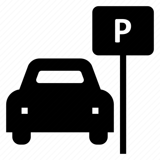 car, carpark, garage, parking, service, sign, valetparking icon