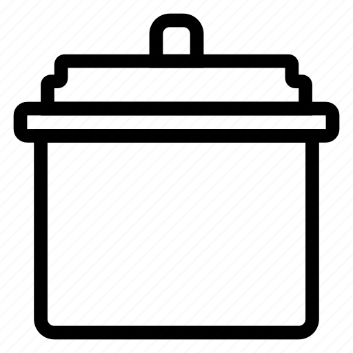 appliance, cooker, kitchen, rice, ricecookericon icon