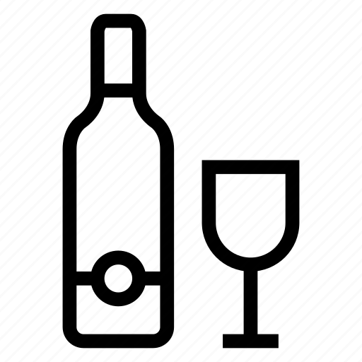 alcohol, beverage, drink, glass, winebottle, wineglasses, winetasting icon