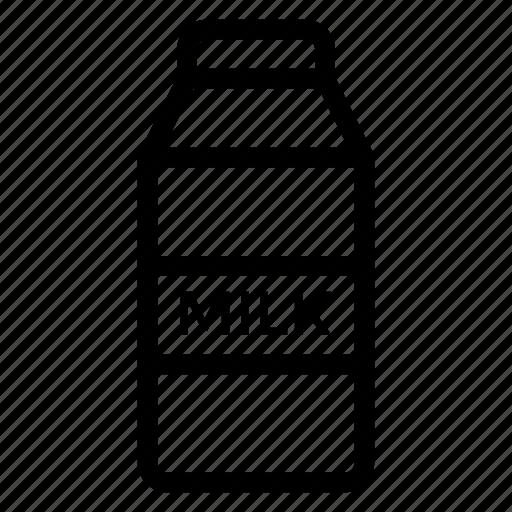 beverage, bottle, drink, food, milk, milkbottle, milkcow icon
