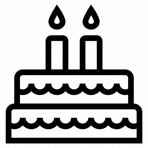 birthday, cake, cakeslice, chocolatecake, dessert, food, sweet icon