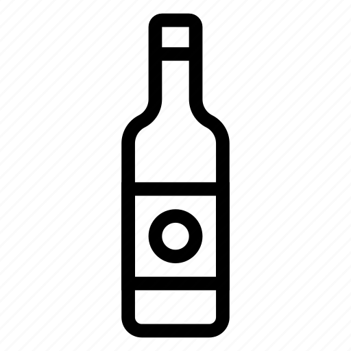 alcohol, bottle, drink, emptybottle, glass, packaging, wine icon