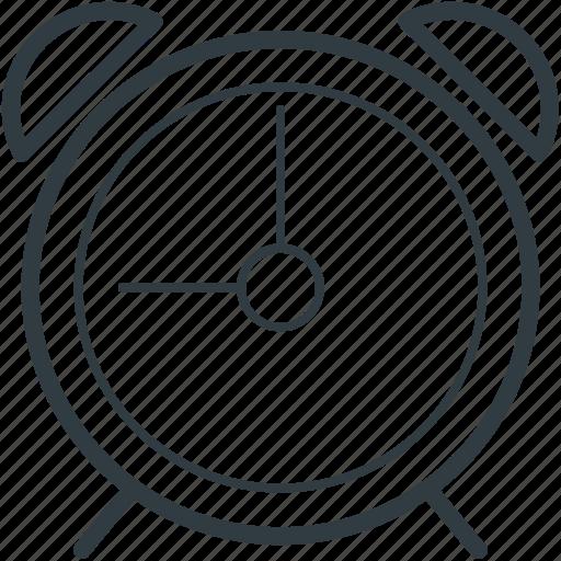 alarm clock, clock, timekeeper, timepiece, watch icon