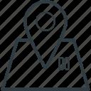 hotel location, hotel pin, location pin, map locator, map pin icon