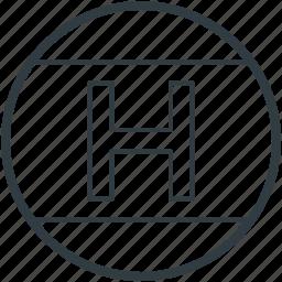 hotel, hotel sign, hotel symbol, letter h, lodge icon
