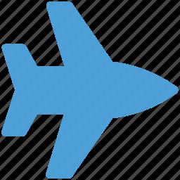 airliner, airplane, flight, plane icon