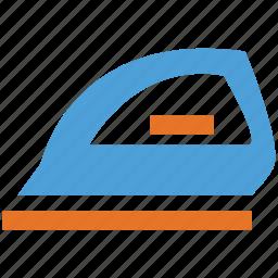 electric iron, iron, laundry, laundry tool icon