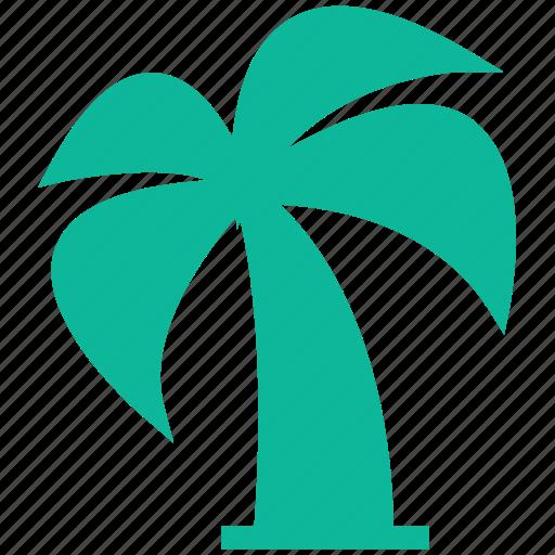 nature, palm tree, travel, tree icon