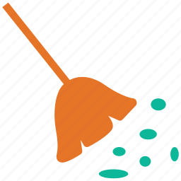 broom, cleaner, janitor, mop icon