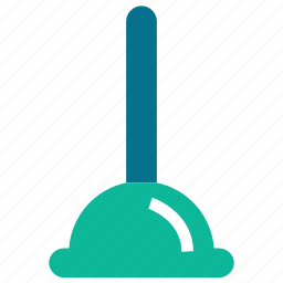 broom, cleaning, janitor, mop icon