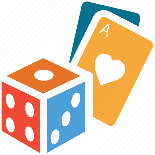 cards, casino, dice, gambling icon