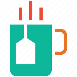 cup of tea, hot tea, mug, tea icon