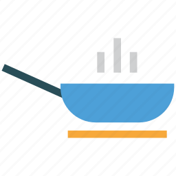cooking food, food, frying, frying pan icon