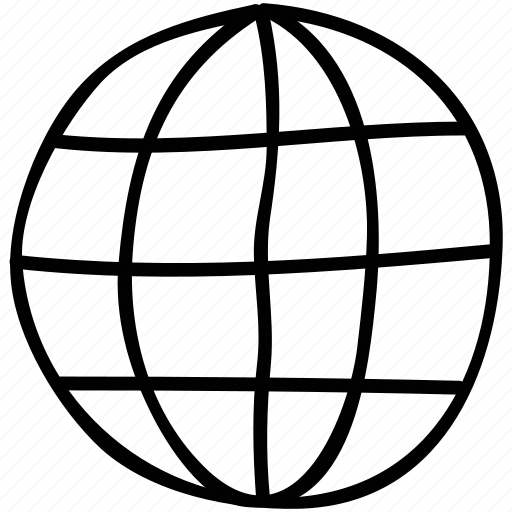 earth, globe, round, world icon